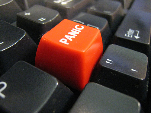 """Panic Button"" by star5112, courtesy of Flickr/Creative Commons."