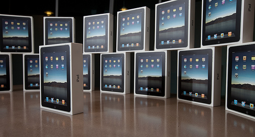 """16 iPads - Part 1"" by Kominyetska, courtesy of Flickr.com/Creative Commons"