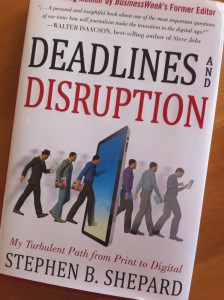 "Review: ""Deadlines and Disruption"" Explores Journalism's Past, Present and Future"
